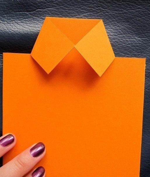 Как сделать из бумаги поделку папе