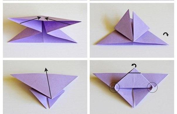 Бумажные бабочки. Оригами